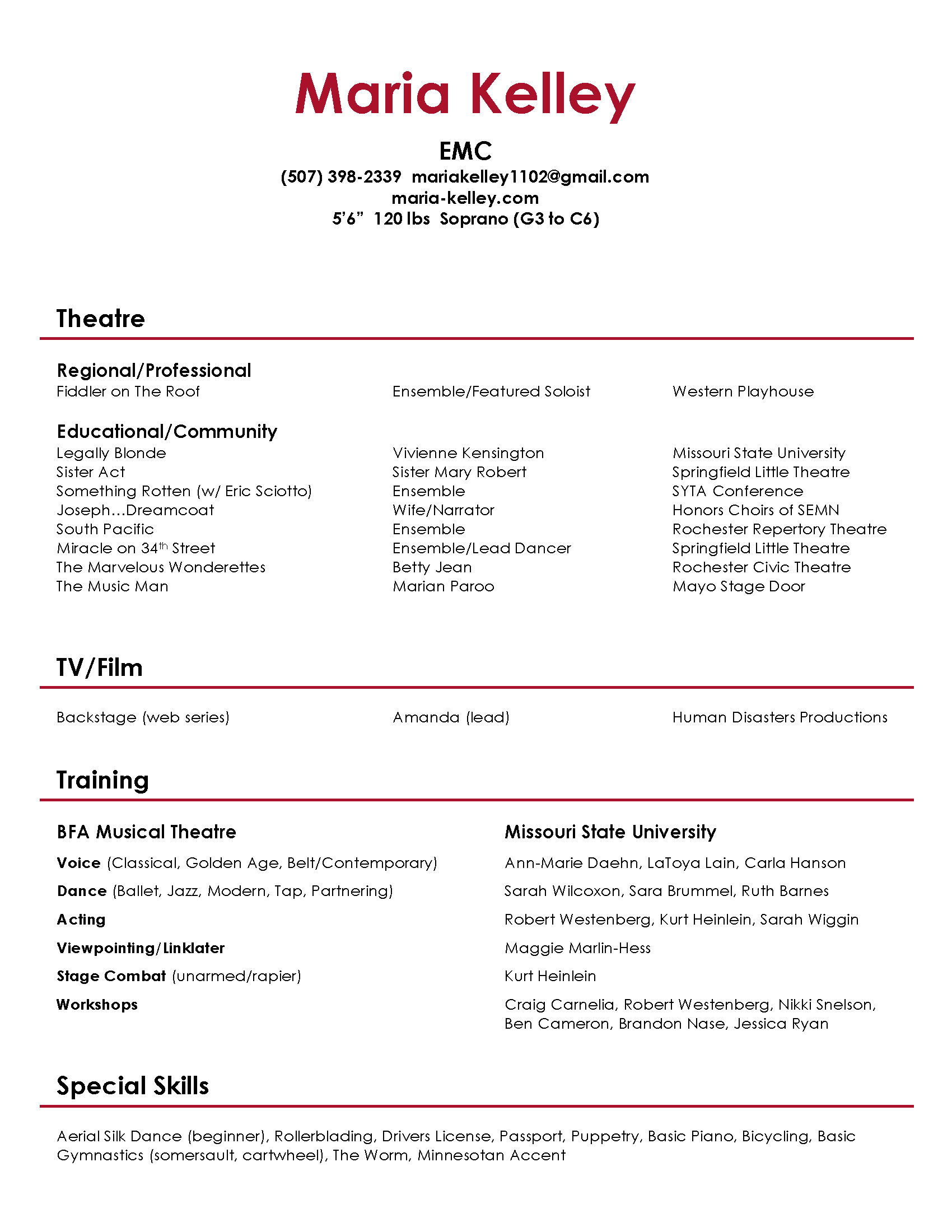 accent modern resume - Selo.l-ink.co